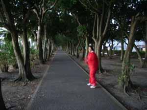 弘美朝トレ20061115
