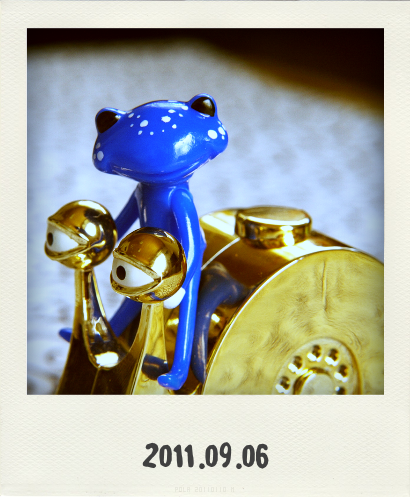 0906電伝虫@Pola(20110906104556)