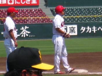 吉田3塁打