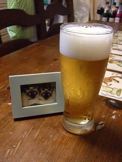 ケマパオとビール