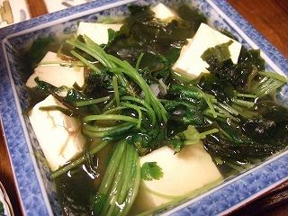 湯豆腐もどき