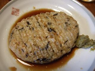 豆腐バーグ