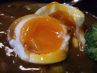 カレーの卵