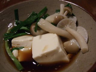 湯豆腐もどき2