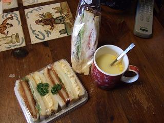 サンドウィッチ&スープ