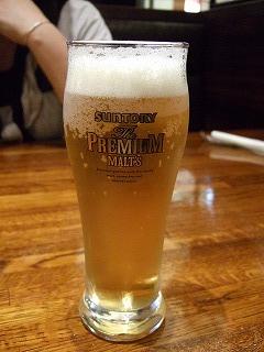 カプリチョーザ_ビール