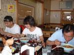 美ヶ原にて昼食