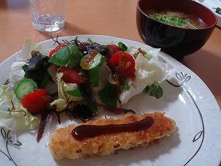 いかフライ・海藻サラダ
