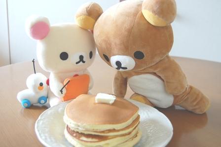 おおー!ホットケーキ♪