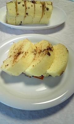 蒸しパン(カット