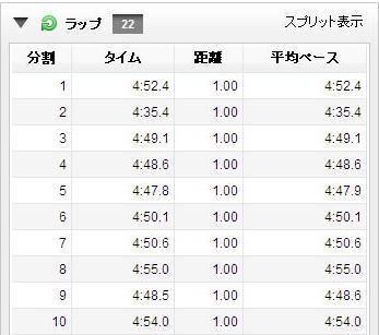 2011スバルマラソンらっぷ1