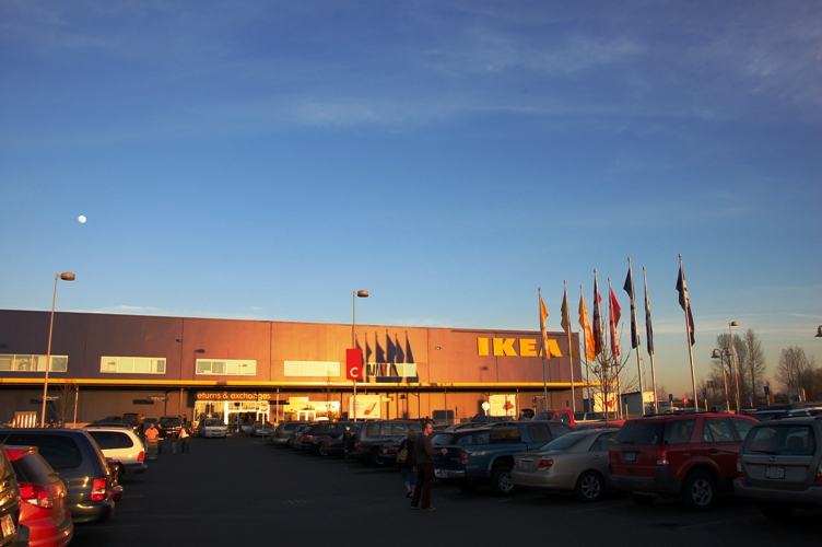 駐車場@IKEA2