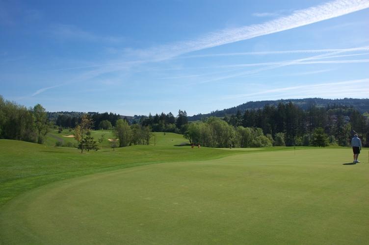 いい天気でゴルフ 1