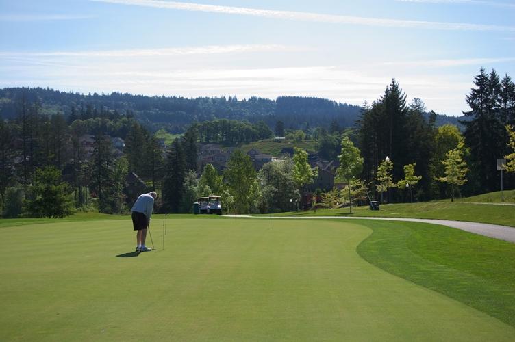 いい天気でゴルフ 2