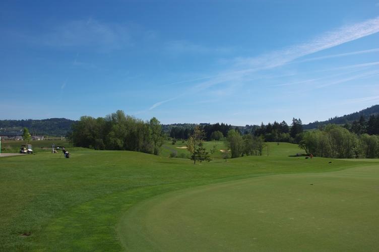 いい天気でゴルフ 3