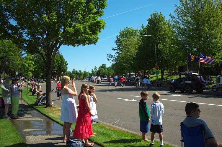 パレード in  Wilsonville 2