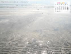 湘南風景壁紙カレンダー2008年4月その1