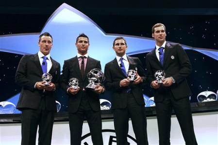 最優秀選手4名