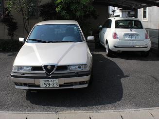 シュミネの車たち