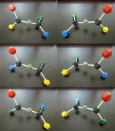 アレン型分子の異性体6種類