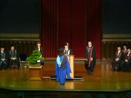 東大秋の卒業式その2