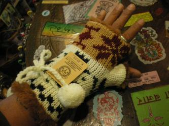 指ぬき手袋2
