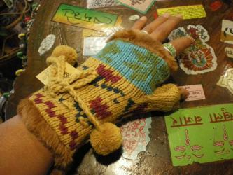 指ぬき手袋
