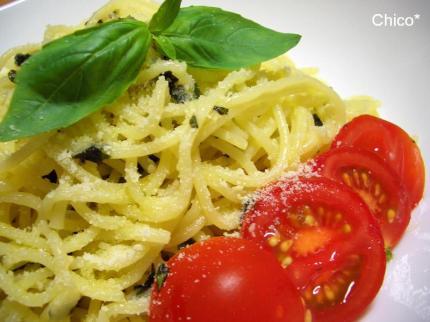 モチモチ♪おいしっくすのスパゲティ