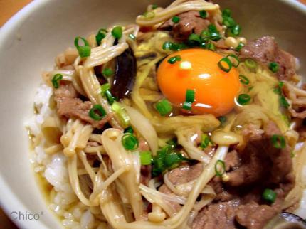 牛すき丼♪