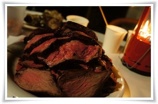 山盛りのお肉