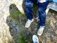 影と右足は私の^^