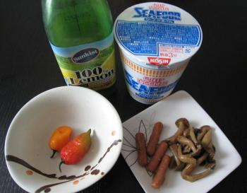 080928_Cup Noodle VS Dorset Naga  Habanero-1