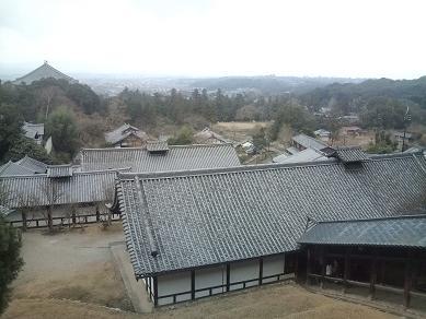 東大寺-二月堂からの景色
