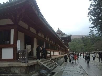 東大寺-大仏殿の外