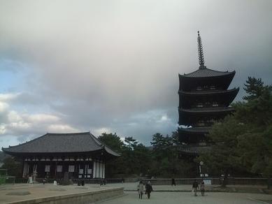 興福寺-東金堂、五重塔