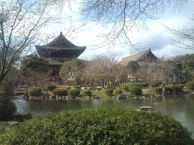 東寺-金堂、講堂