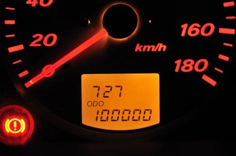 10万キロ。