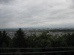 どんより曇った空 お盆の旭川