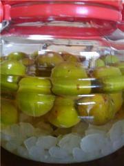 20100611梅酢シロップ