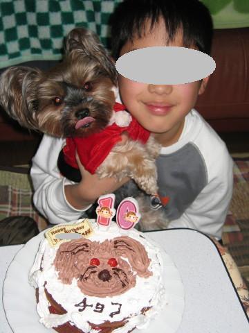 2005チョコのお顔~☆