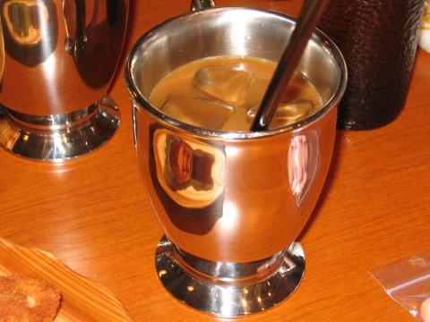 アイスコーヒー。