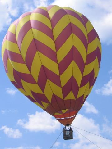 気球でしゅって。