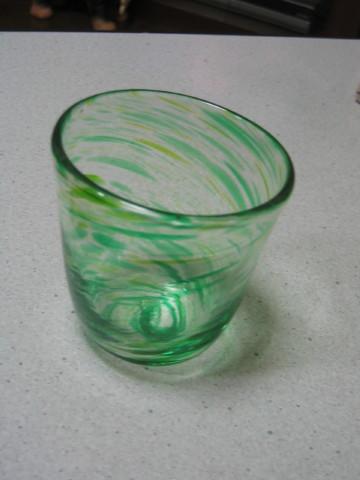 お兄ちゃんの作ったコップでしゅよ。