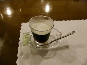 デザートのコーヒーゼリー。