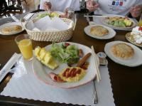 朝ご飯でしゅよ~。