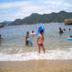浜辺にて♪