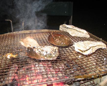 アワビと牡蠣