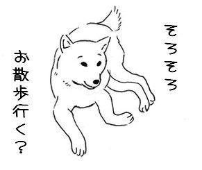散歩催促(夏)