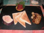 前菜(フォアグラ・2種盛り)