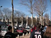 PSGのホーム'Parc des Prainces'